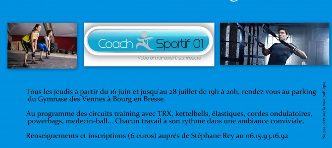 Outdoor Training à Bourg-en-Bresse