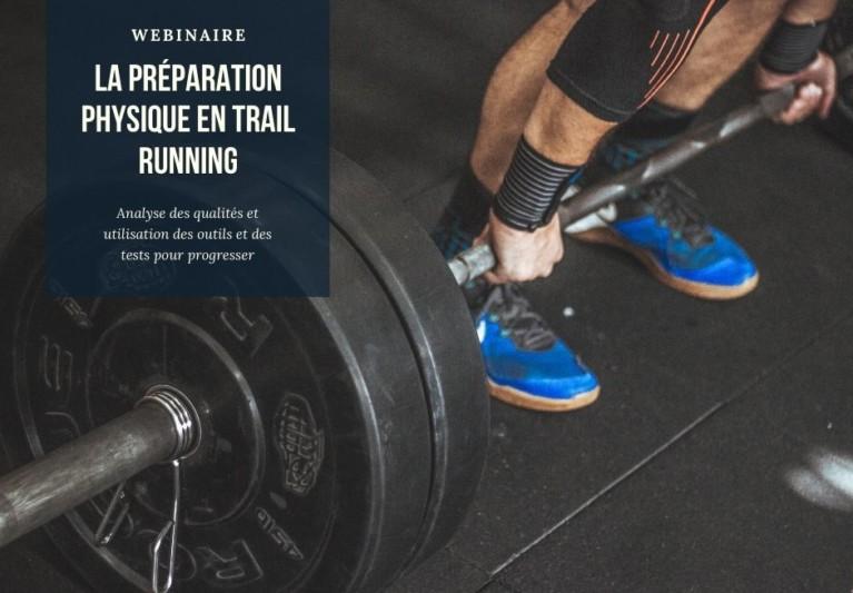 Webinaire : La préparation physique en Trail / Running
